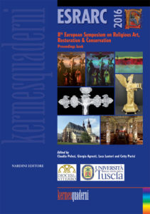 ESRARC 2016 - 8th European Symposium on Religious Art, Restoration & Conservation. Proceeding book