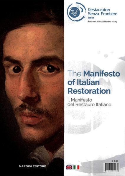 Manifesto del restauro Manifesto of Italian Restoration