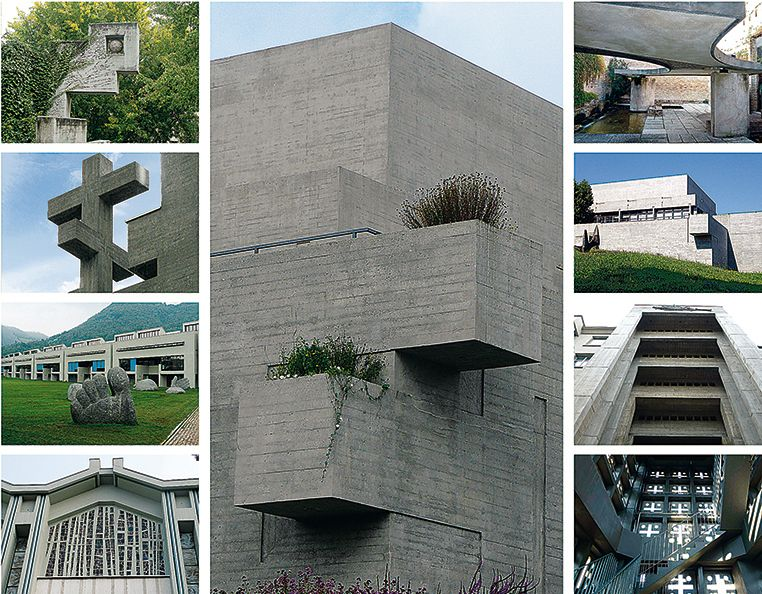 Conservazione del Calcestruzzo a vista – Conservation of Fair-Faced Concrete