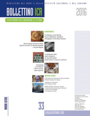 Bollettino ICR 33 Nardini Editore
