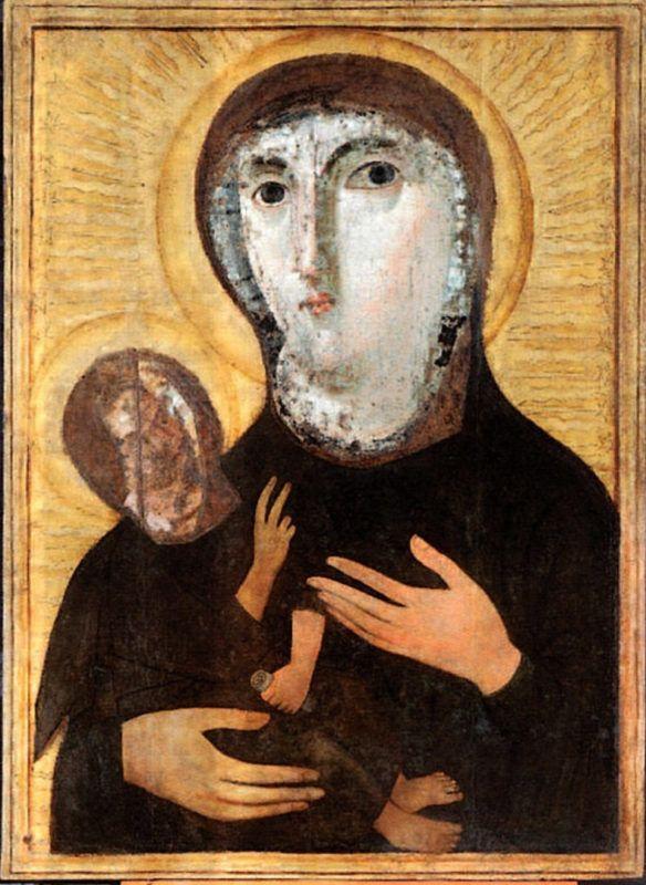 Il restauro dell'icona di Santa Maria Nova a Roma da parte dell'ISCR
