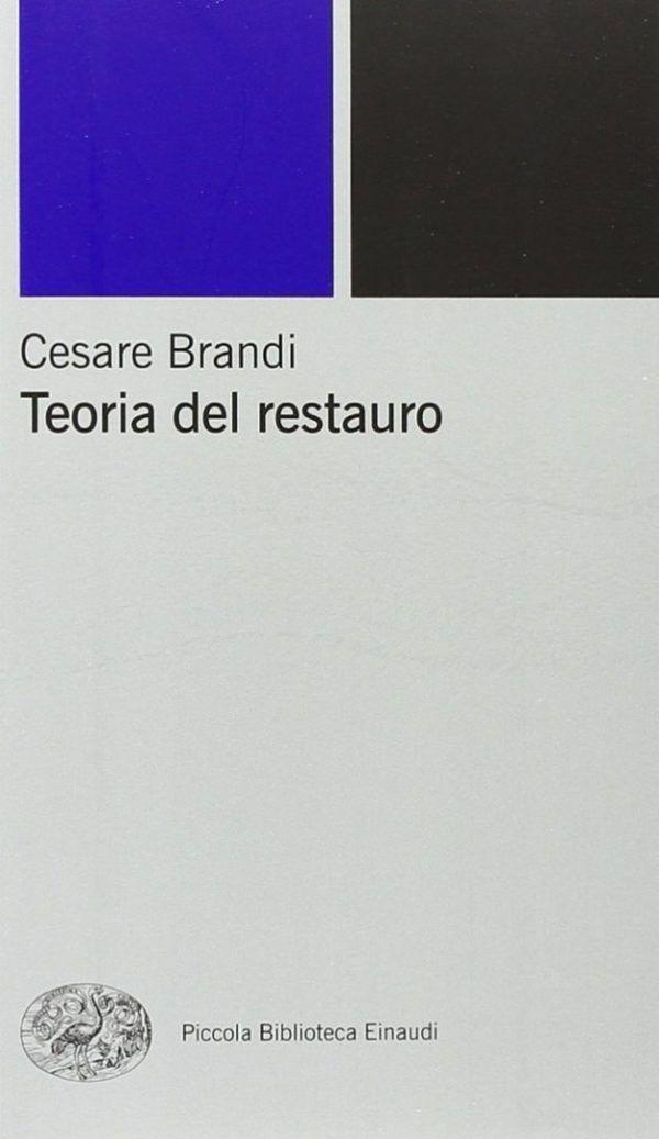 einaudi-teoria-restauro-brandi-nardini-booktsore