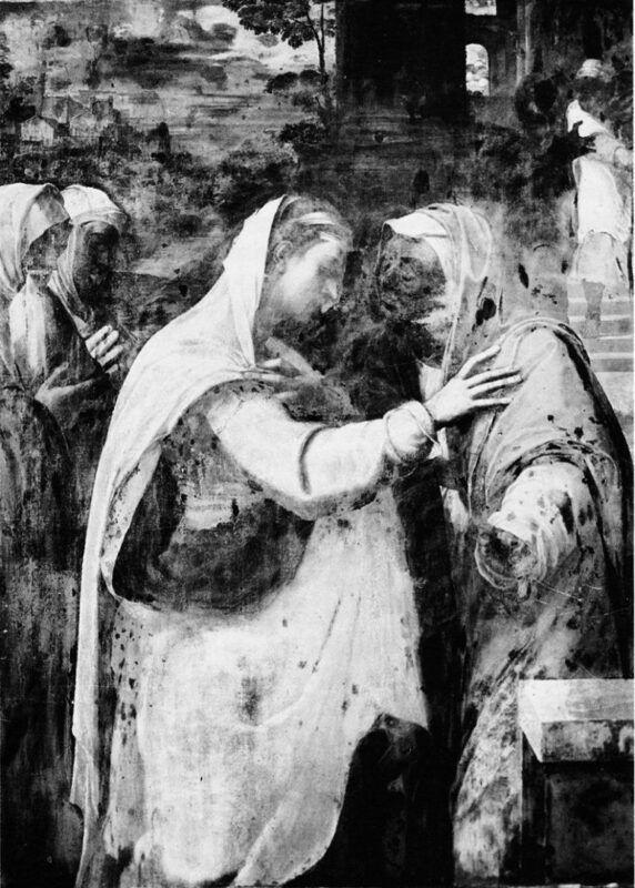 Sebastiano del Piombo, La Visitation, Louvre