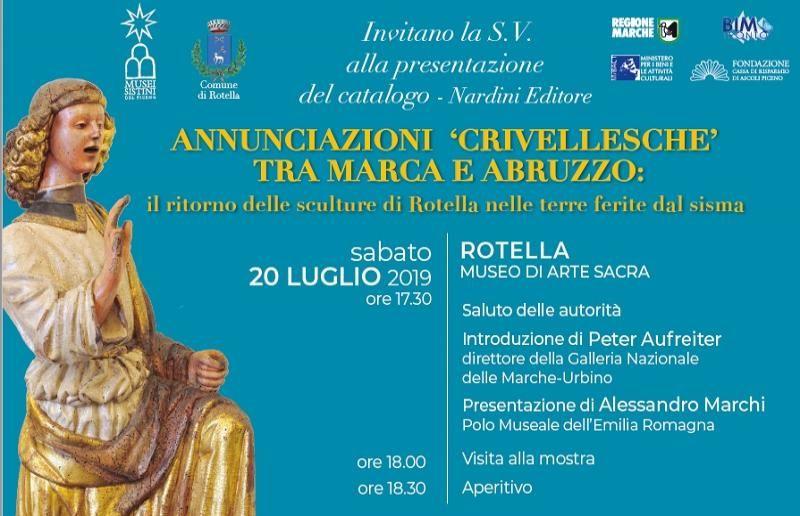 annunciazioni crivellesche - Musei Piceni - Nardini Editore