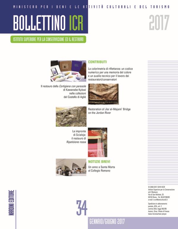 bollettino icr 34 - Nardini Editore
